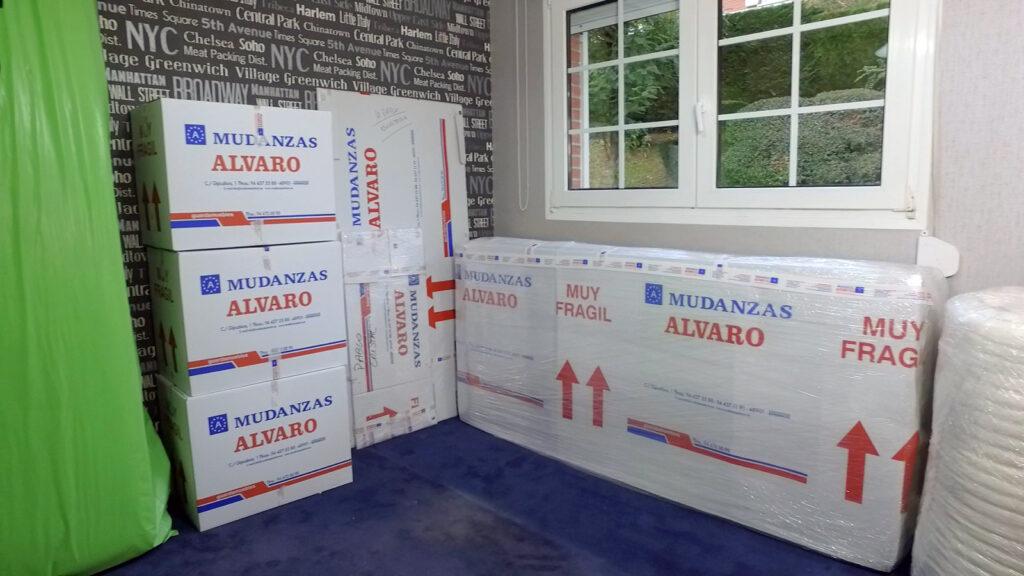 Mudanzas Álvaro le ofrece el servicio más profesional de Mudanzas en Basauri