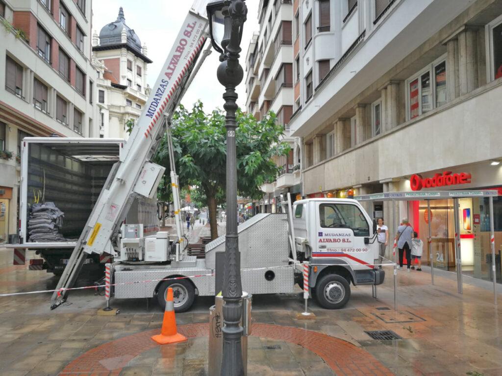 Mudanzas Álvaro realiza mudanzas integrales de hogar y oficina en Bilbao y toda Bizkaia